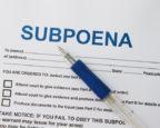Subpoena Compliance